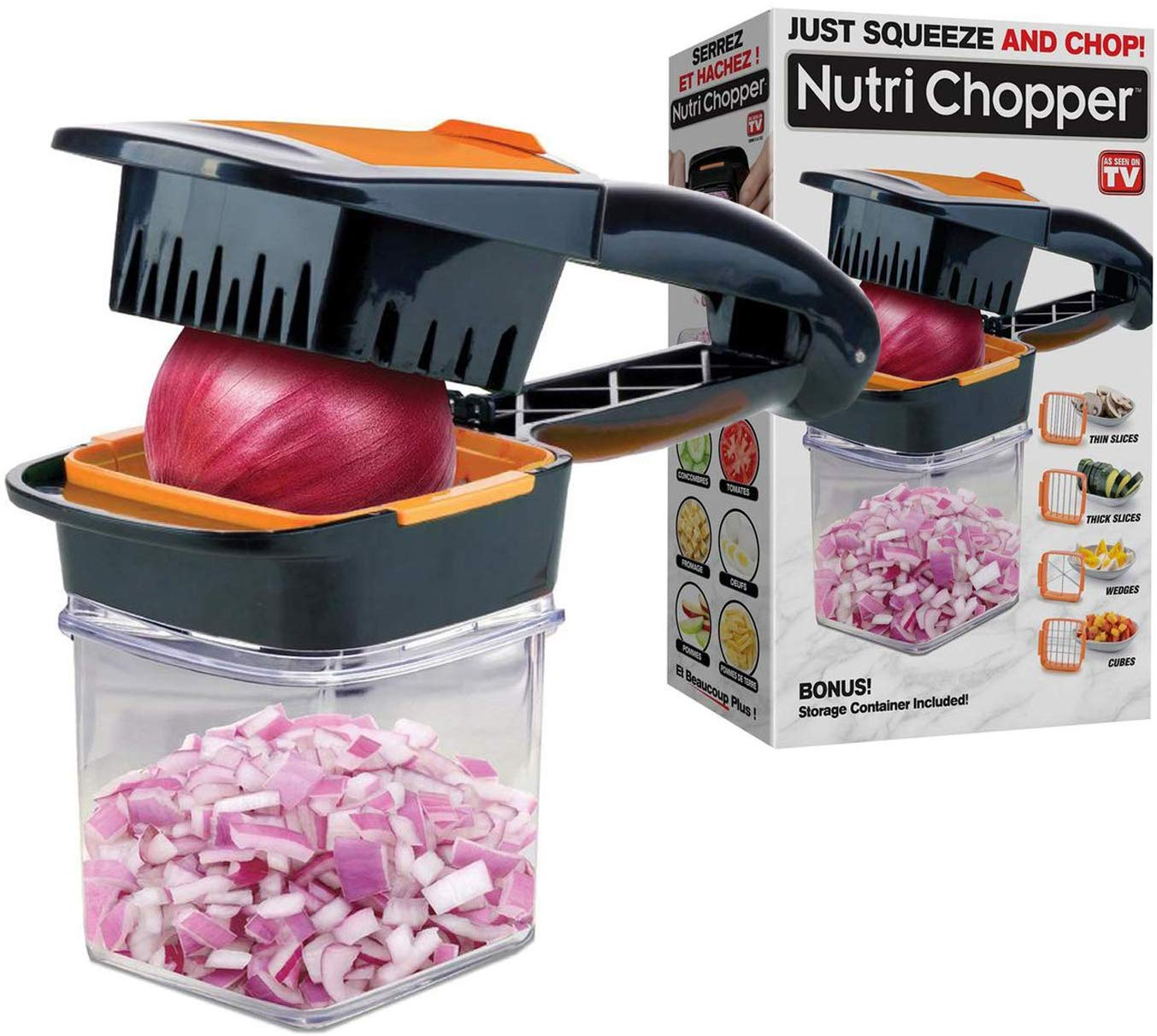 Nutrichopper food chopper