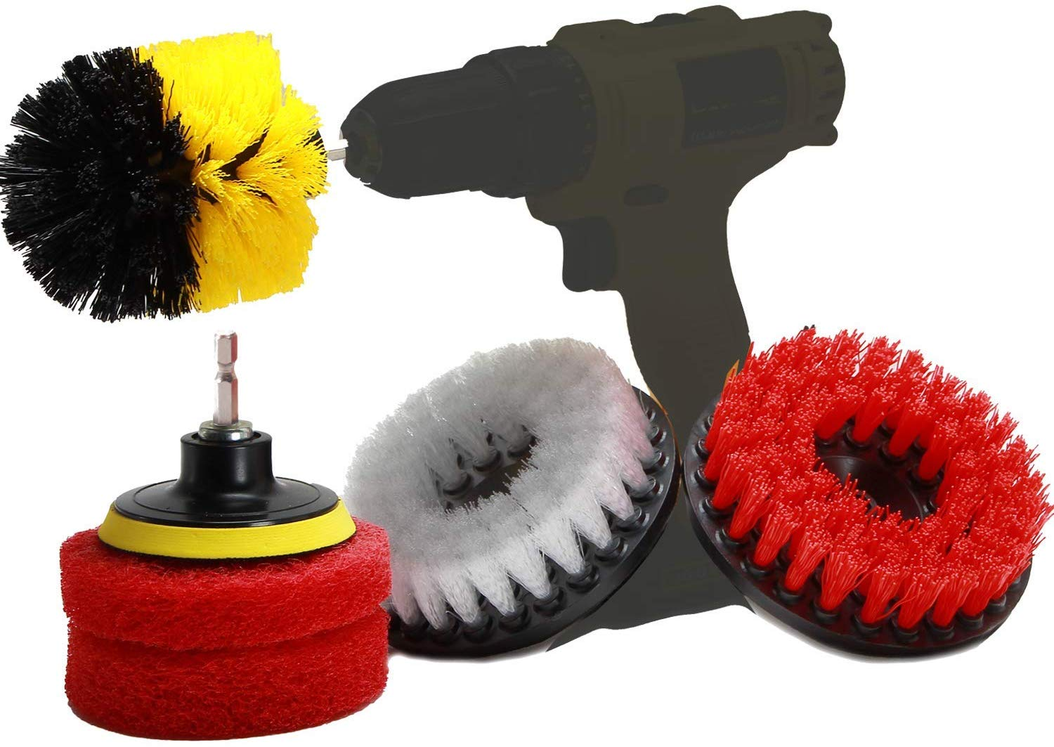 Power Scrubber Set