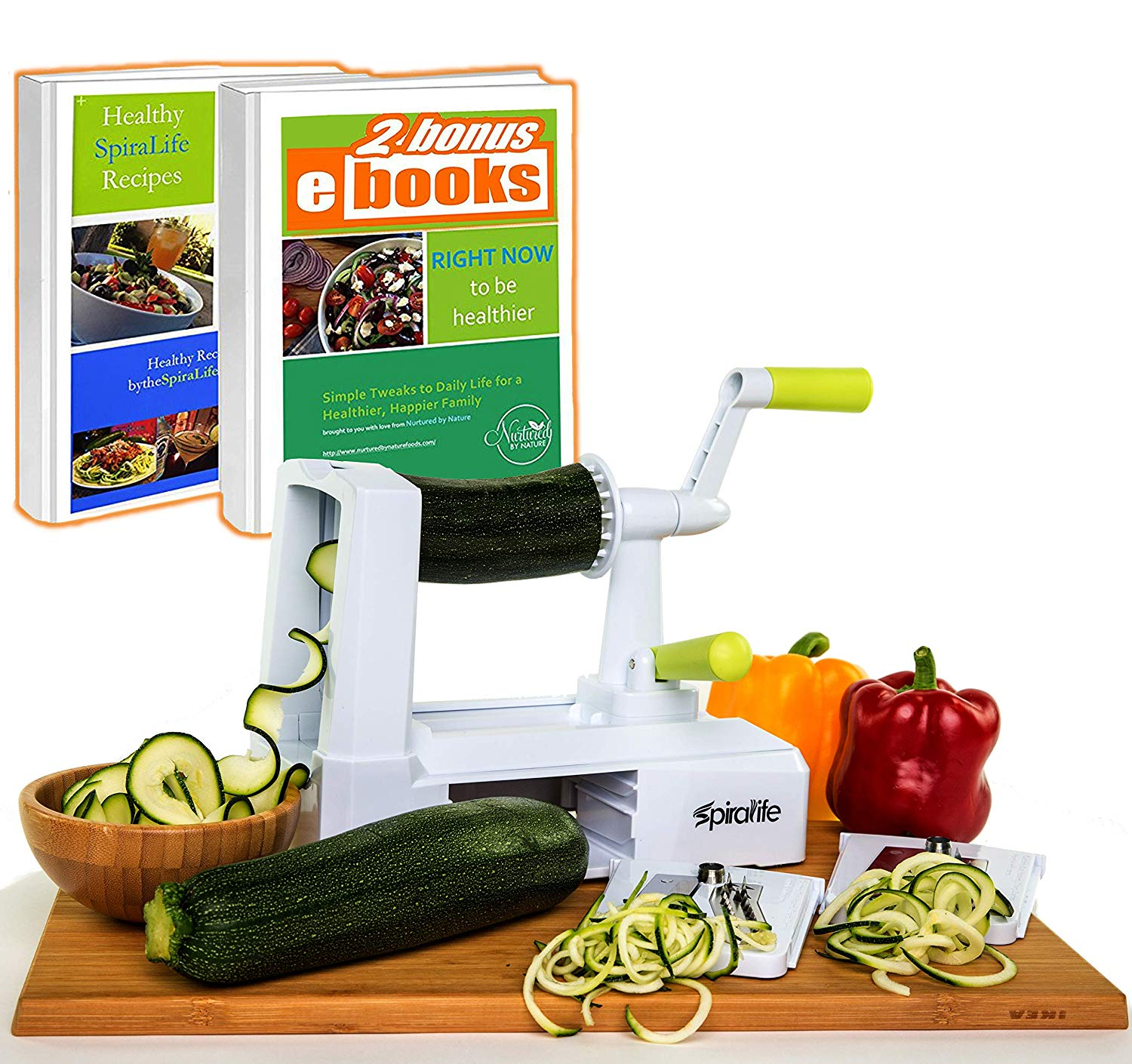 Spiralife Spiralizer Vegetable Slicer