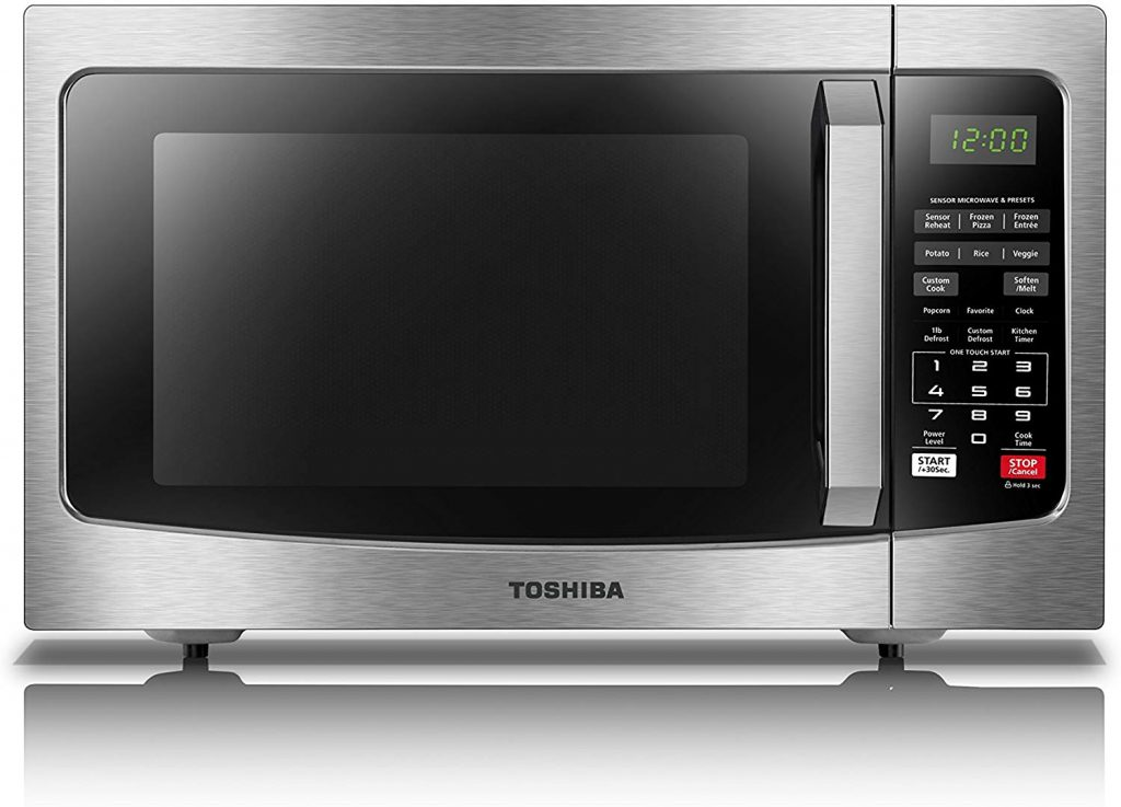 Toshiba EM131A5C-SS Microwave Oven with Smart Sensor