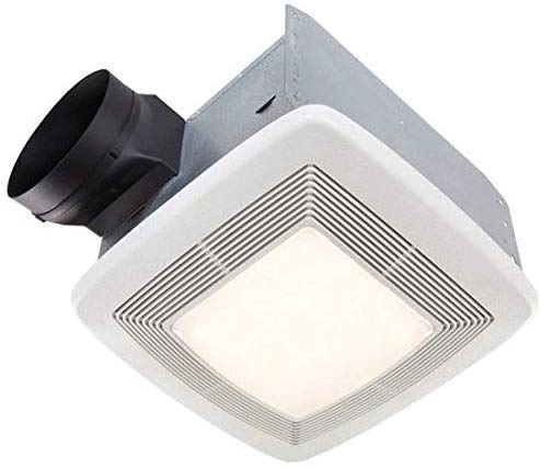 Broan Very Quiet Ventilation Fan and Light Combo for Bathroom and Home, ENERGY STAR Certified, 36-Watt Fluorescent Light, 4-Watt Nightlight, 110 CFM