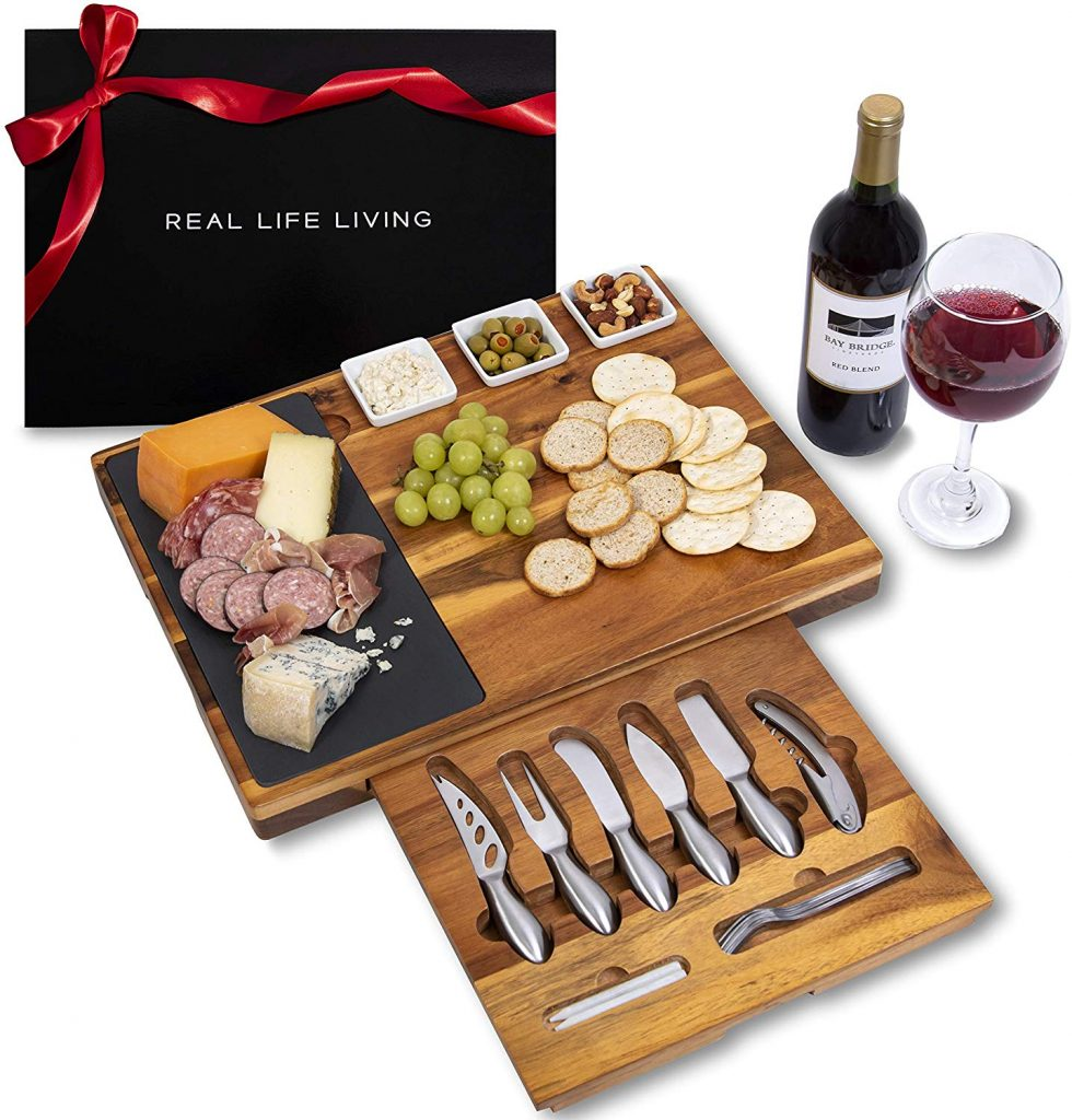 Extra Large Charcuterie Board Set by Real Life Living