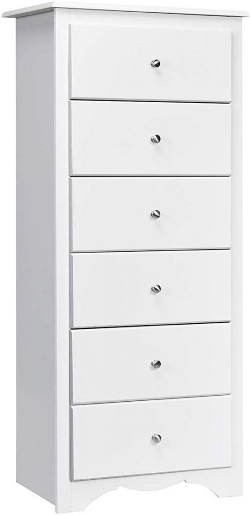 Giantex 6 Drawer Chest Wooden Dresser