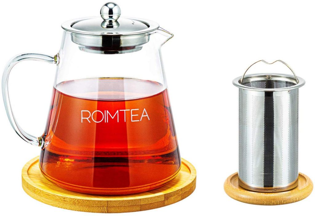 Glass Teapot Kettle Stovetop