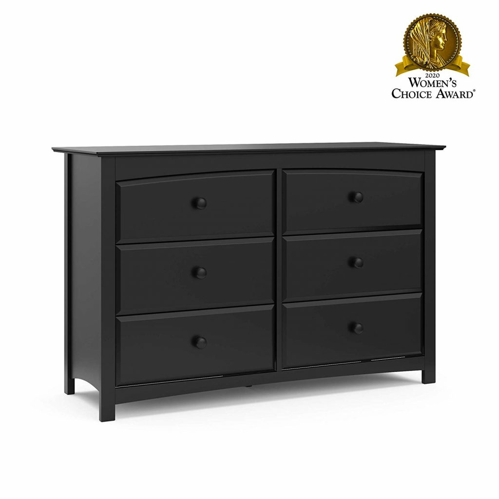 Stork Craft Kenton 6 Drawer Universal Dresser
