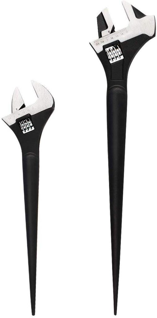 MAXPOWER Adjustable Wrench Set