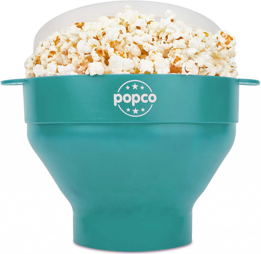 The Original Popco Silicone Popcorn Popper