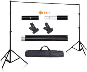 AW Backdrop Stand Kit 6.5 x 10ft