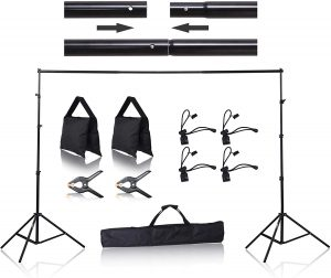 Emart 8.5' x 10' Backdrop Stand