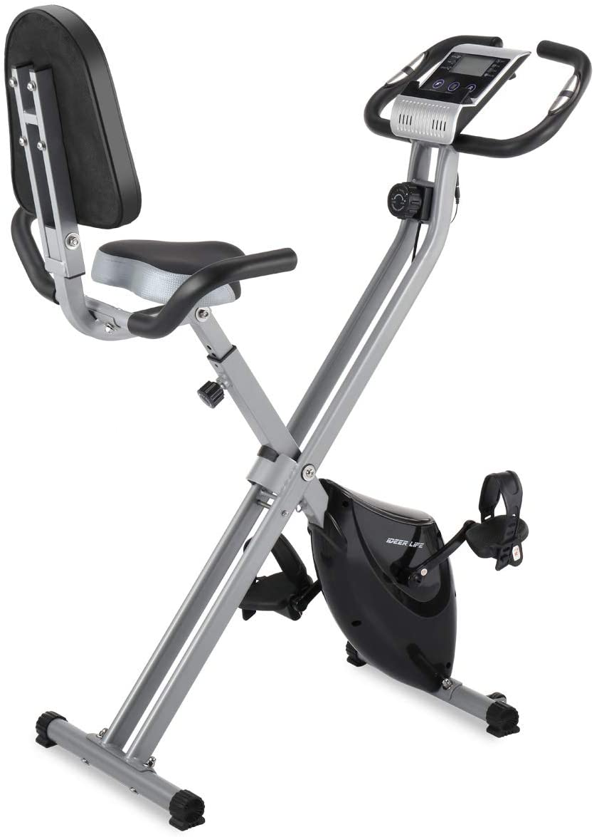 IDEER Folding Exercise Bike