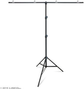 Linco Lincostore Zenith Portable T-Shape Backdrop Stand