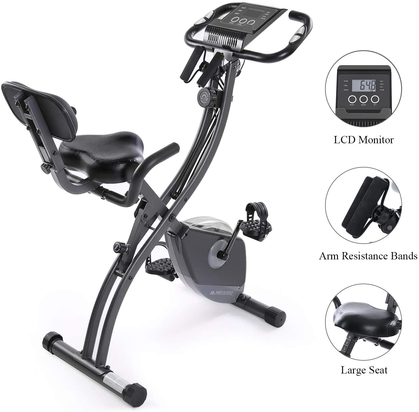 MaxKare Stationary Exercise Bike