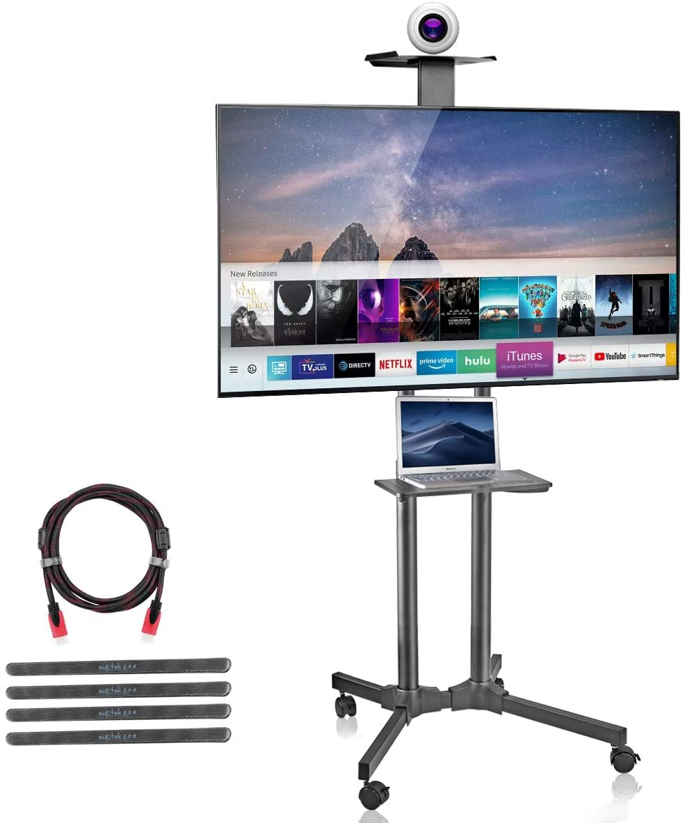 Suptek Rolling TV Cart