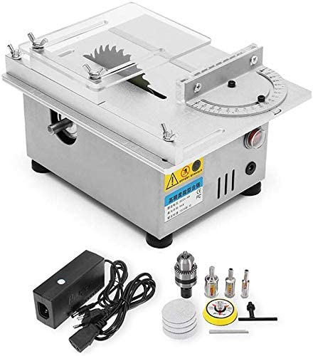 96W Mini Precision Table Saw by H HUKOER
