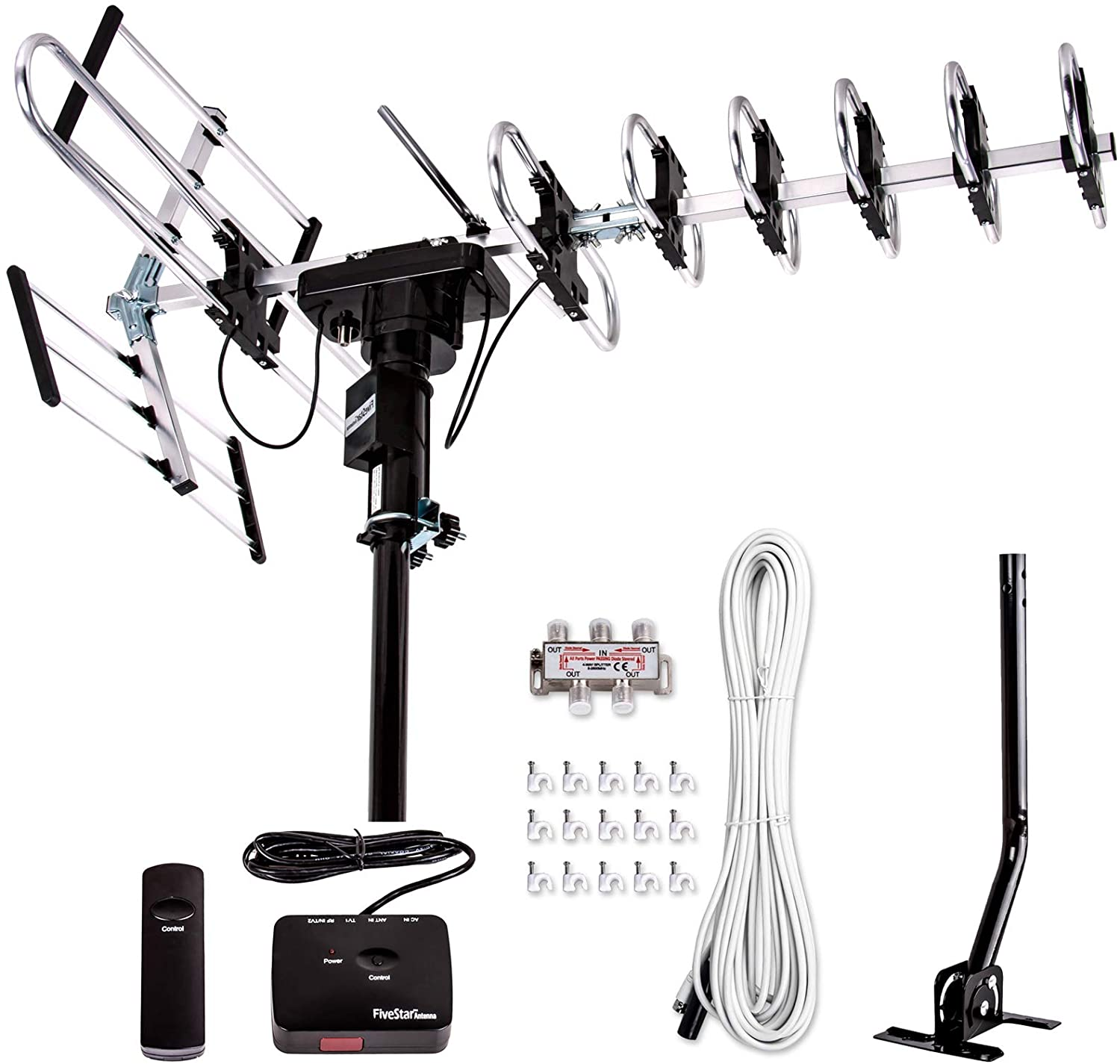 Five Star [Newest 2020] Outdoor Digital Amplified HDTV Antenna