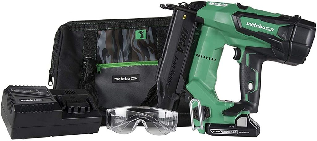 Metabo HPT Cordless Brad Nailer Kit (NT1850DE)
