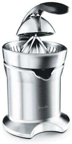 Breville 800CPXL Die-Cast Stainless-Steel Citrus Press