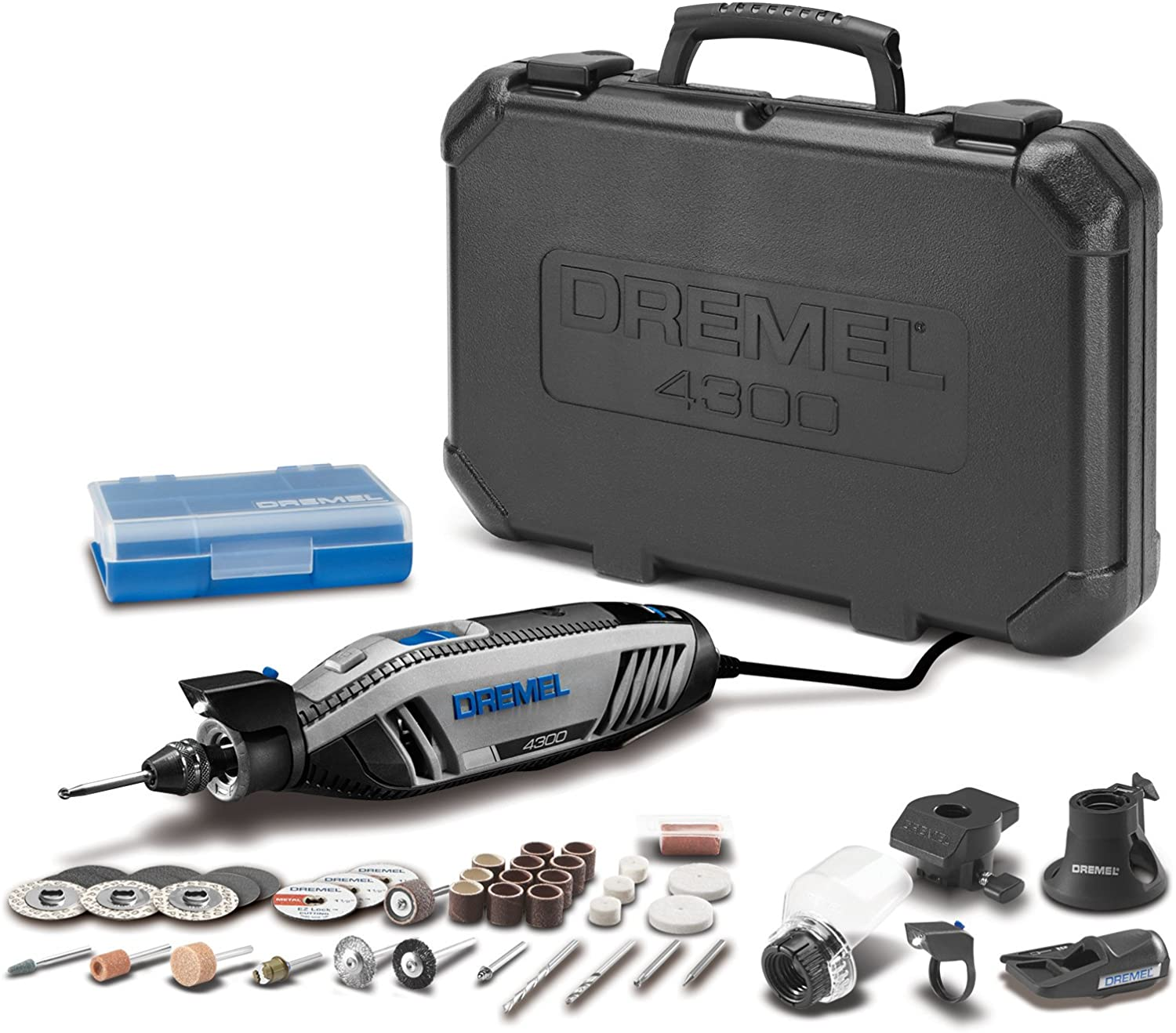 Dremel 4300-5 40 High-Performance Rotary Tool Kit