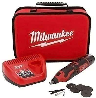 Milwaukee M12TM Rotary Tool Kit