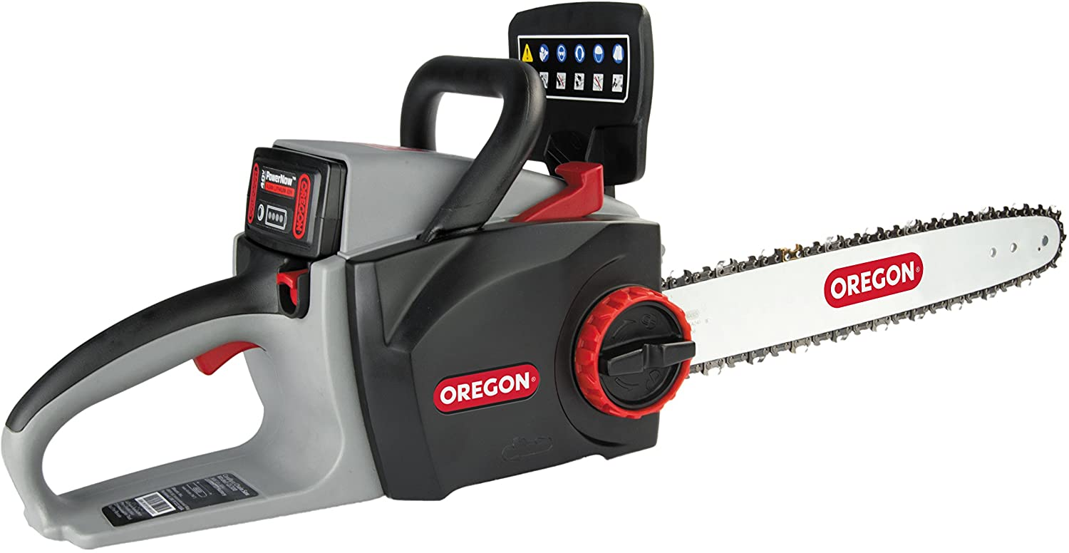 "Oregon Cordless 16"" Self-Sharpening Chainsaw"