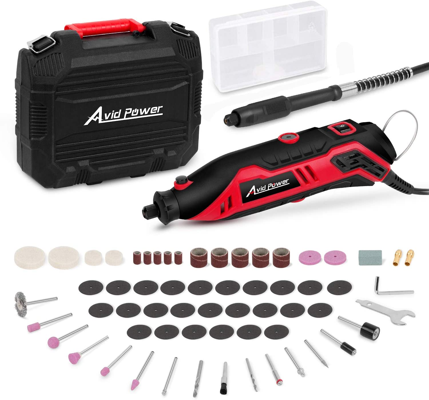 Rotary Tool Kit Variable Speed by Avid Power