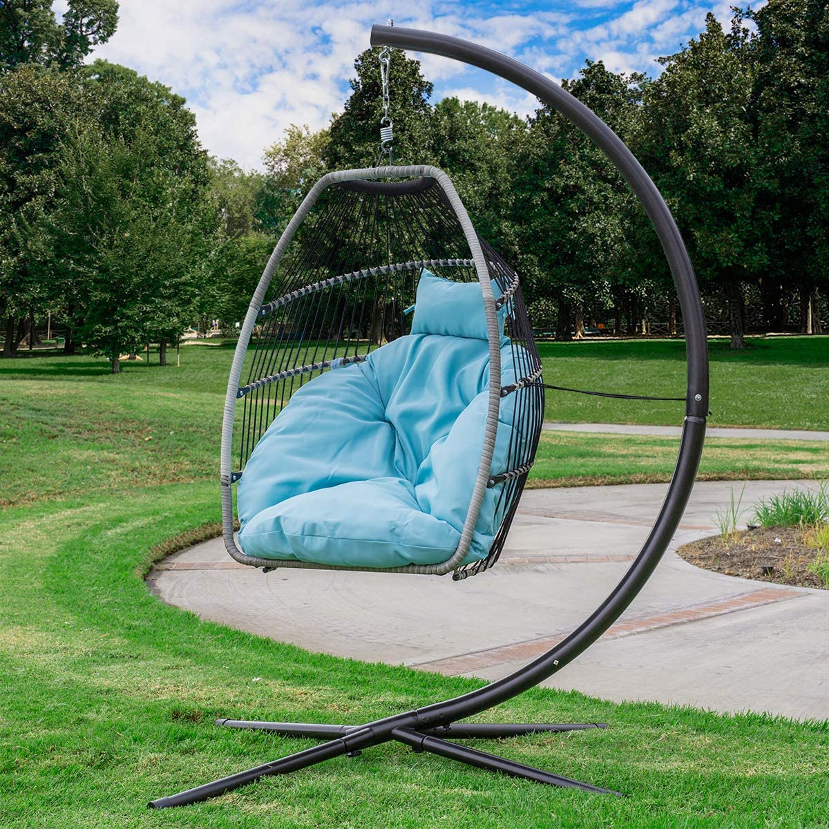 Barton Premium Patio Hanging Chair