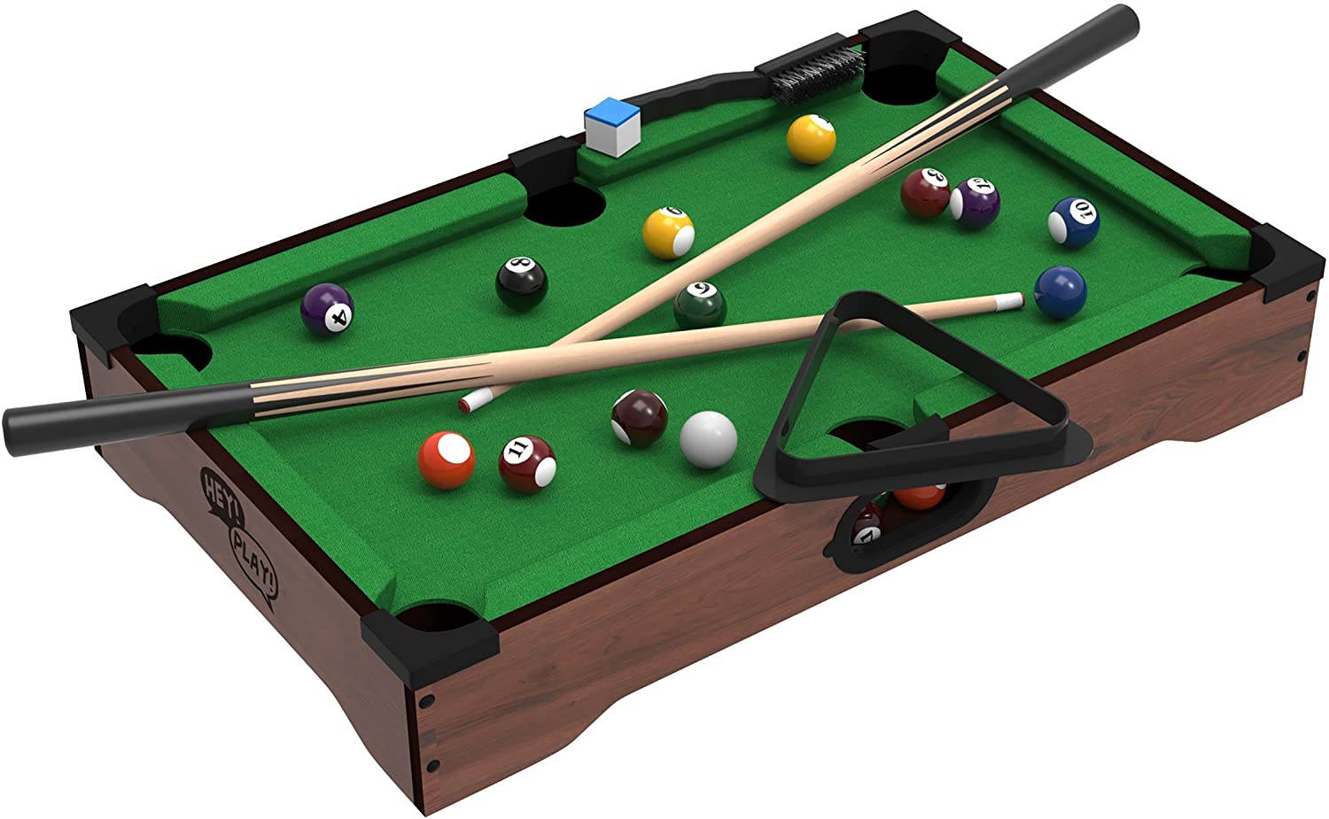 Hey! Play! Mini Tabletop Pool Set