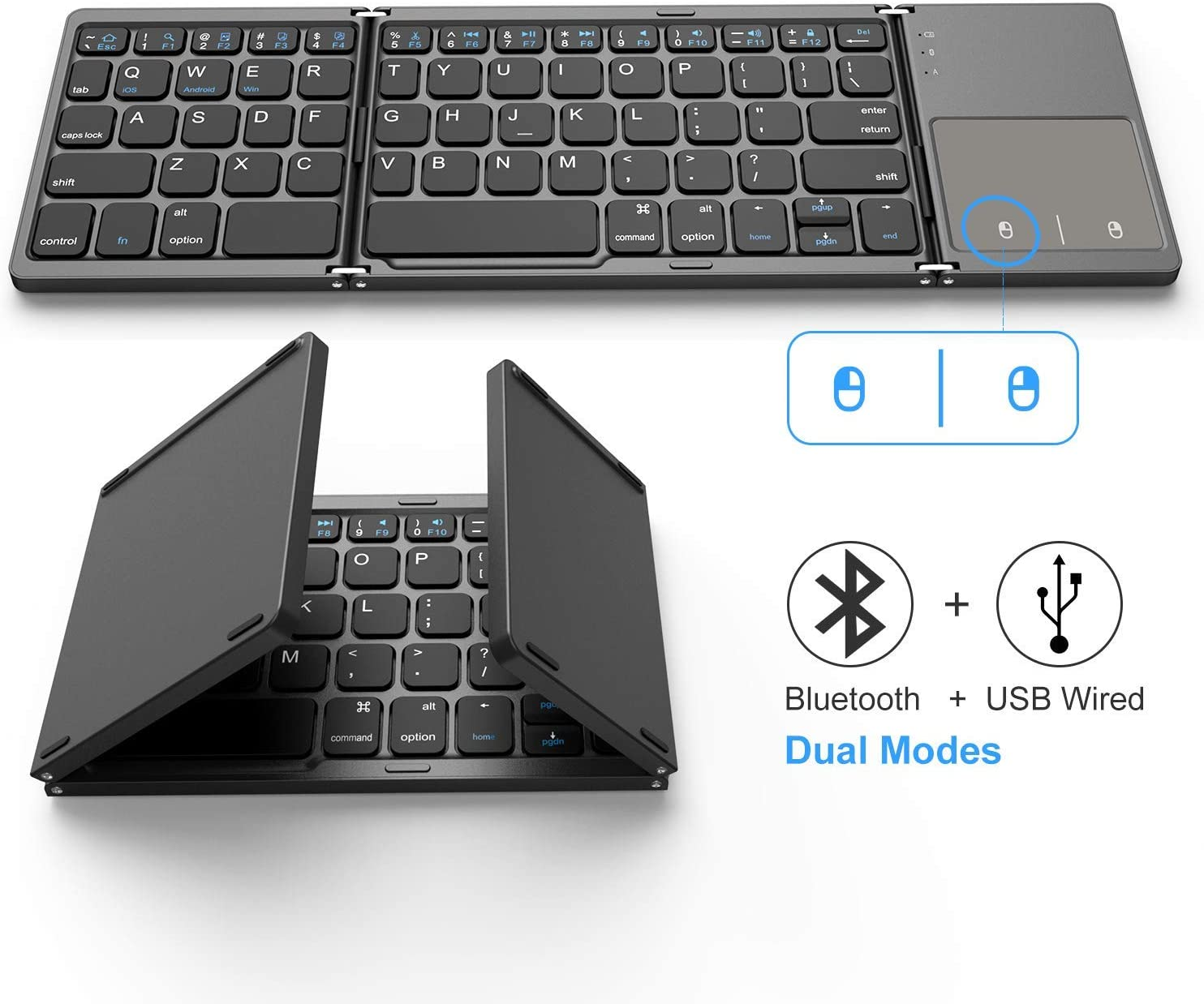 Jelly Comb Dual Mode Foldable Keyboard