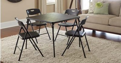 Folding Table & Chair Set