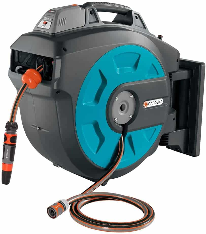 GARDENA Retractable Battery Operated Hose Reel