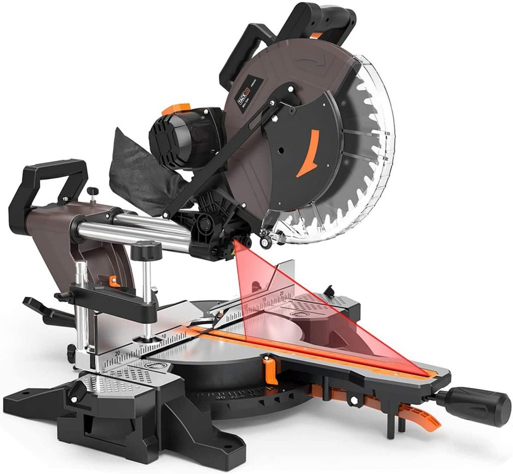 12-Inch TACKLIFE Sliding Compound Miter Saw