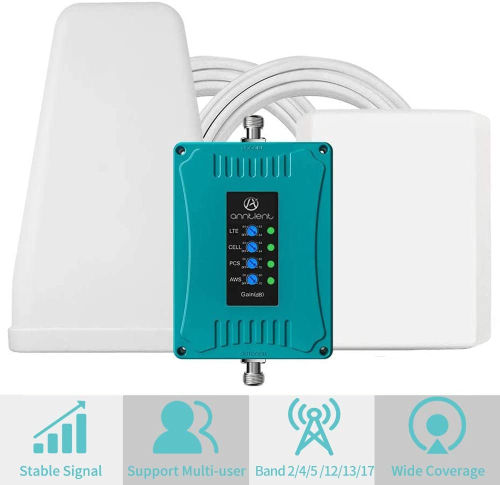 5-Band Cell Phone Signal Booster
