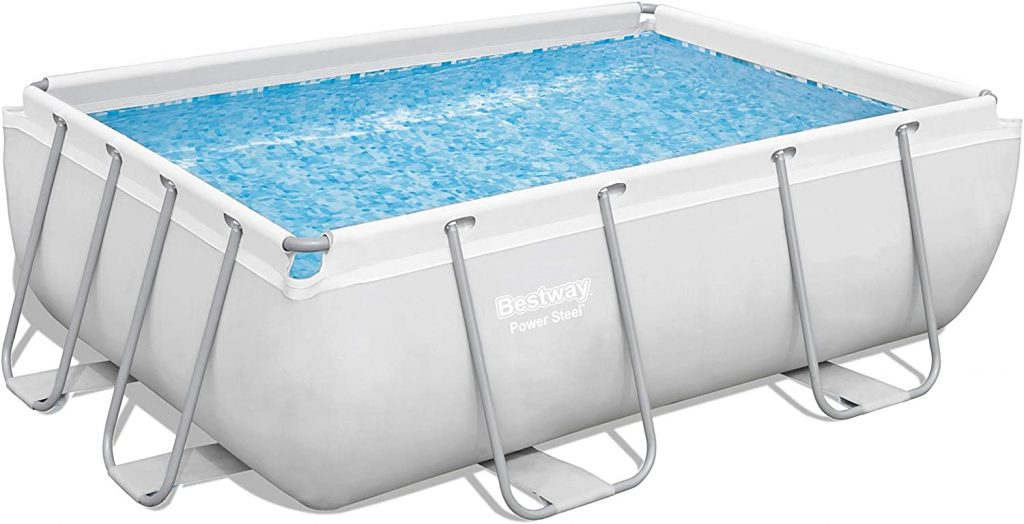 Bestway 56631E Power Steel Above Ground Pool Set
