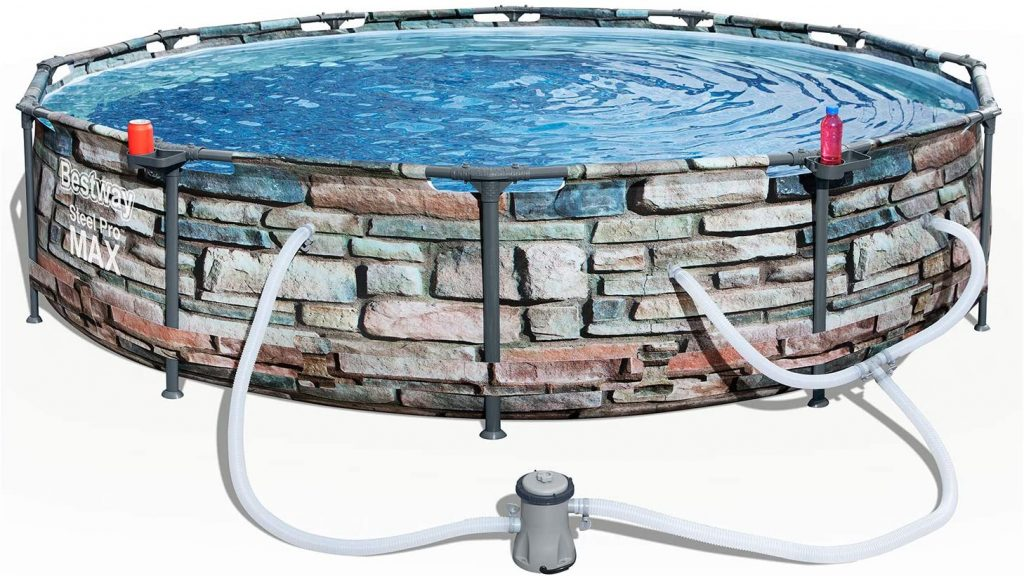Bestway 56817E Above Ground Swimming Pool Kit