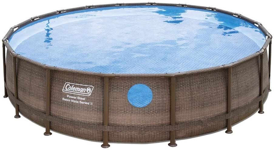 Coleman 18' x 48'' Swimming Pool Metal Frame