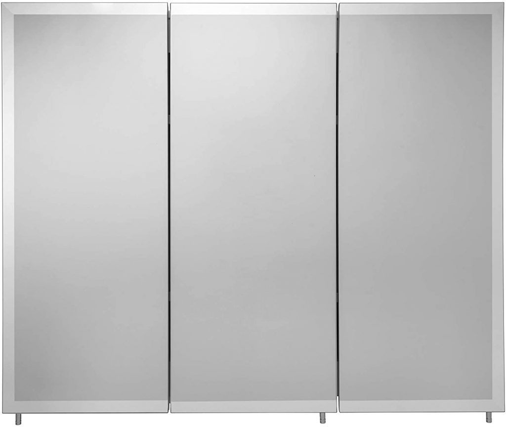 Croydex WC102322AZ Westbourne Triple Door Tri-View Cabinet