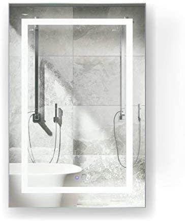 Krugg LED Surface Mount Mirror Cabinet