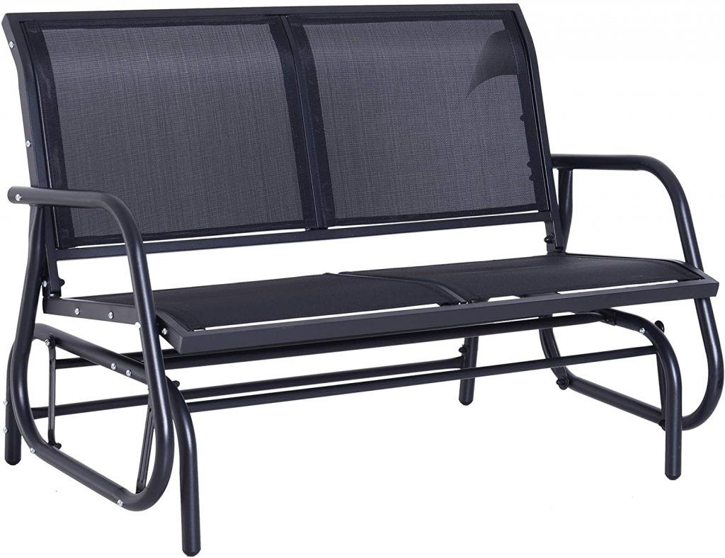 Outsunny Outdoor Double Rocking Chair