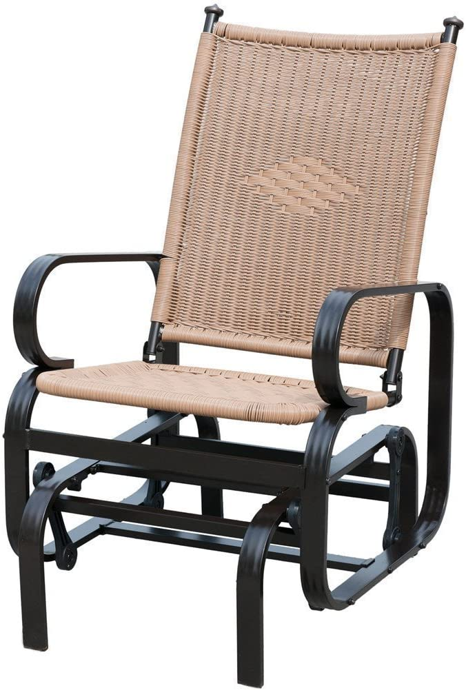 PatioPost Outdoor Patio Glider Chair