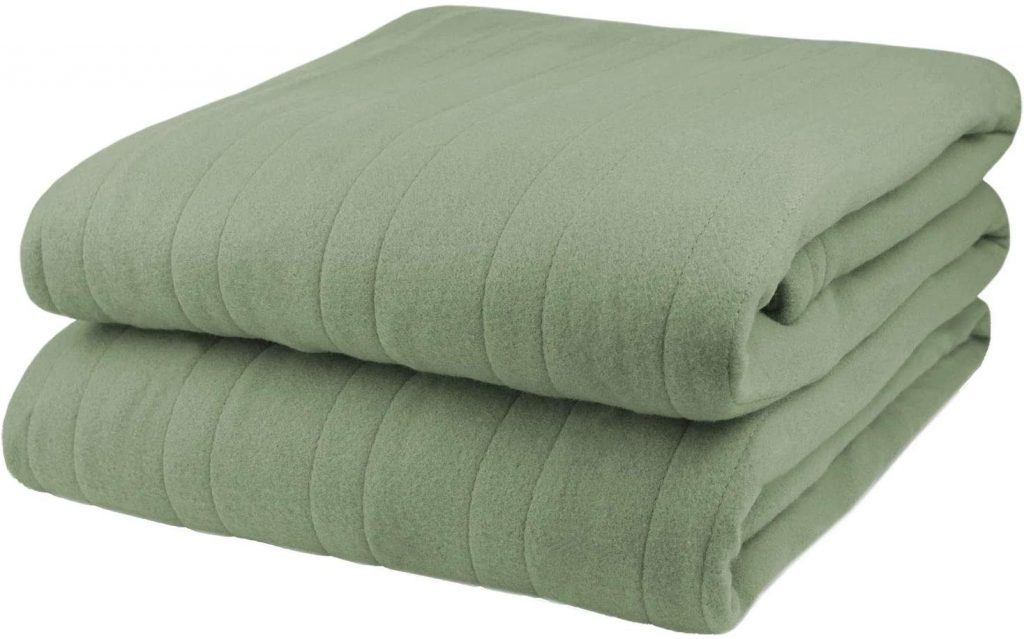 Pure Warmth Comfort Knit Heated Electric Blanket