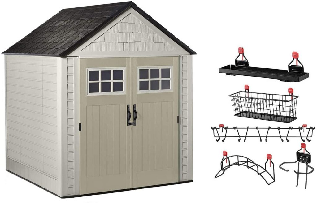 Rubbermaid Weather-resistant Storage Shed