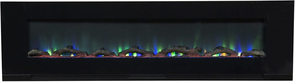 Touchstone in-Wall Recessed Electric Fireplace