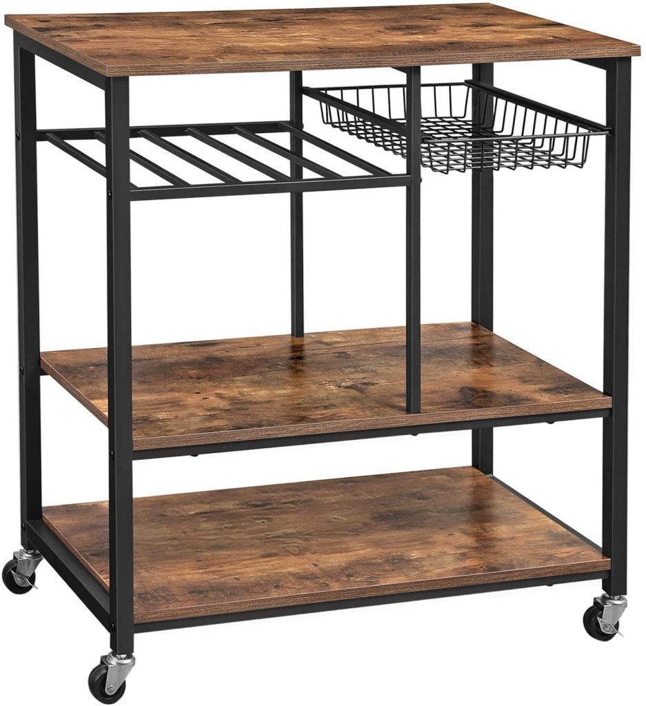 VASAGLE ALINRU Kitchen Cart