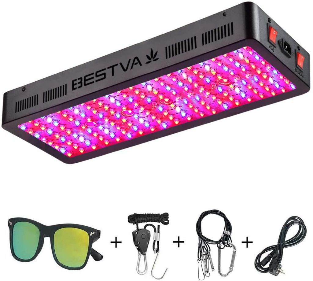 BESTVA DC Series 2000W LED Grow Light