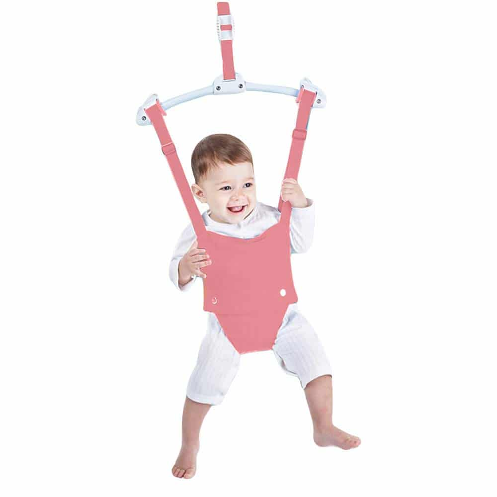 Baby Door Jumpers and Bouncers Exerciser Set by HI SUYI