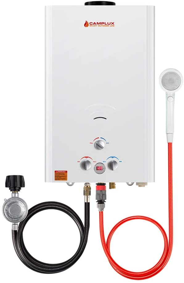 Camplux 16L Outdoor Propane Gas Tankless Water Heater
