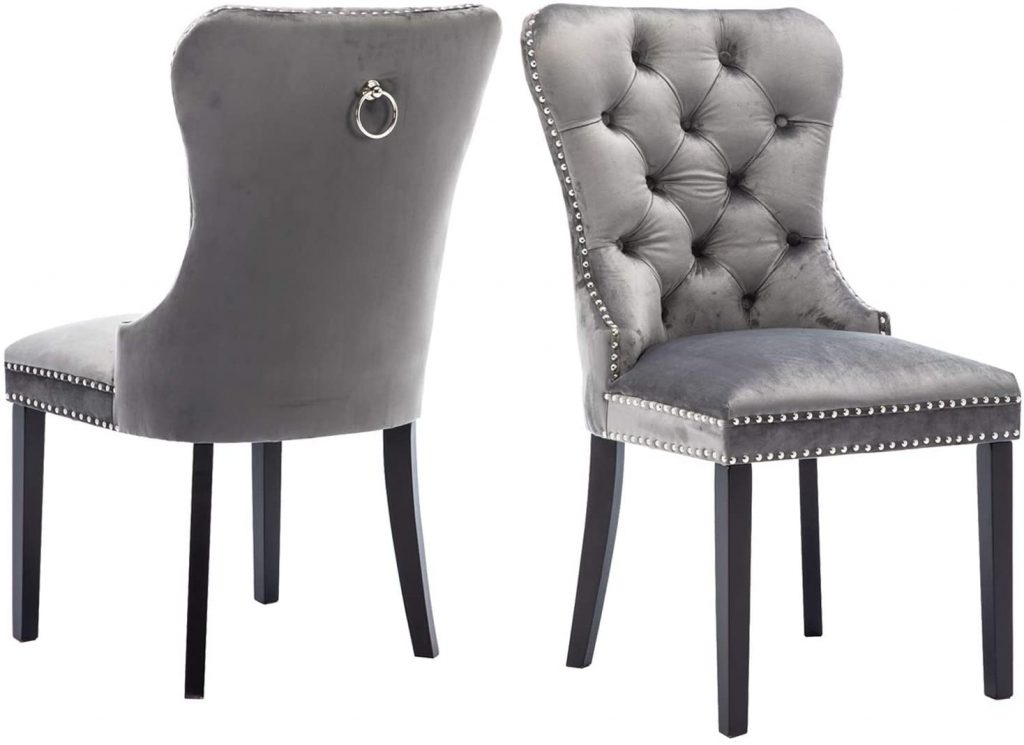 Chairus Velvet Dining Chairs Upholstered