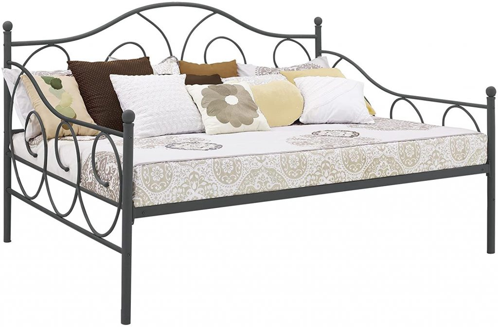 DHP Victoria Daybed, Full Size Metal Frame