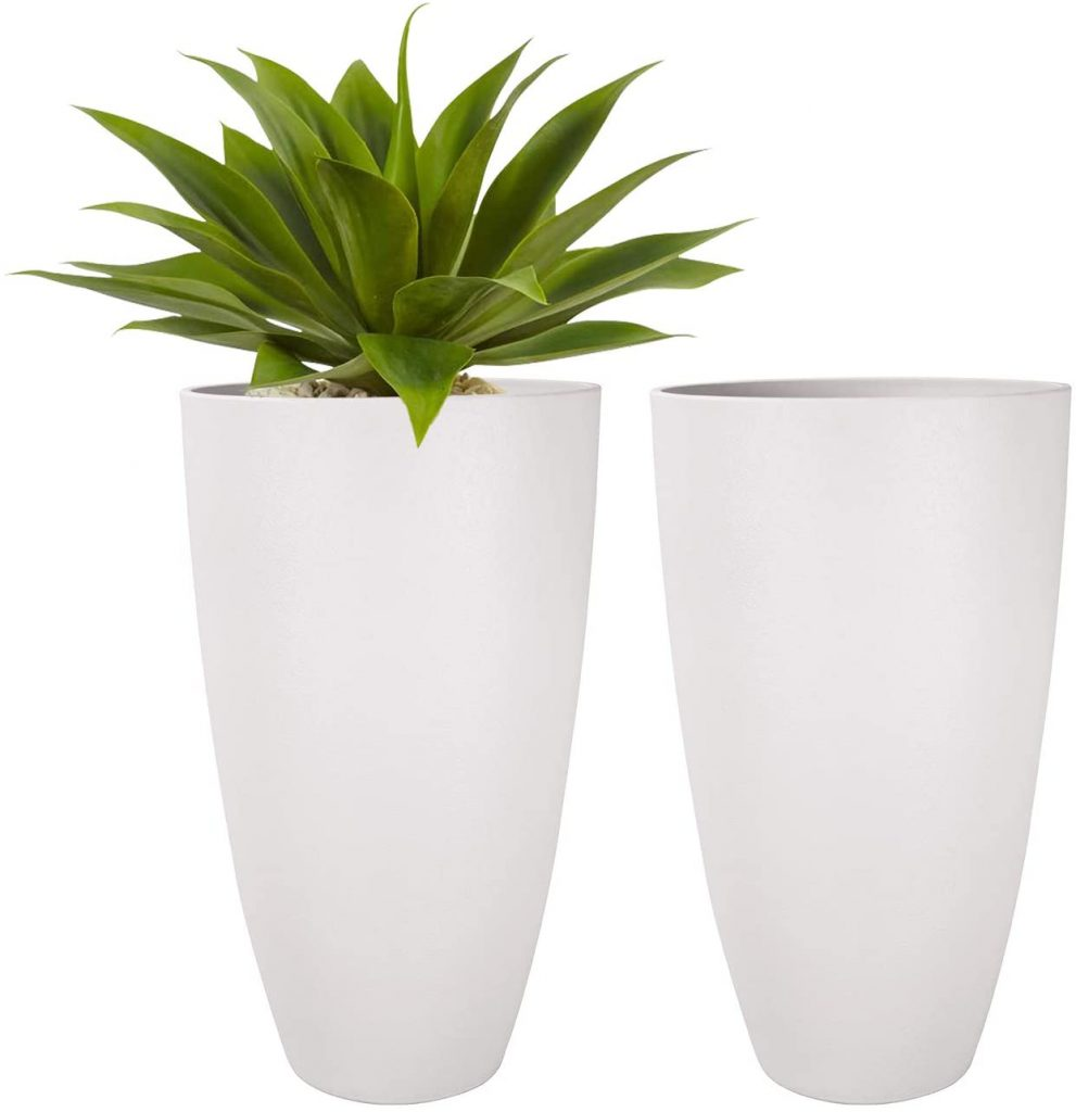LA JOLIE MUSE Tall Planters Outdoor Indoor