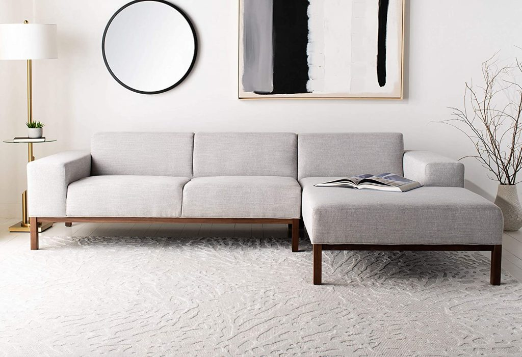 Safavieh Couture Home Dove Mid-Century Modern Sofa